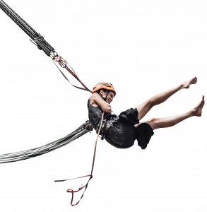 Girl on the bungee 26