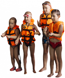 children in a life jackets 26